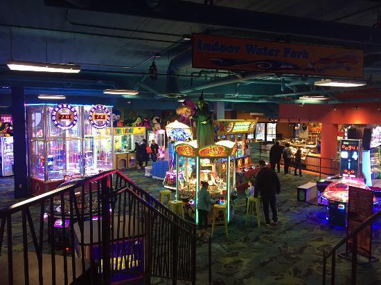 Pocono Manor, PA: arcade, Kalahari Poconos