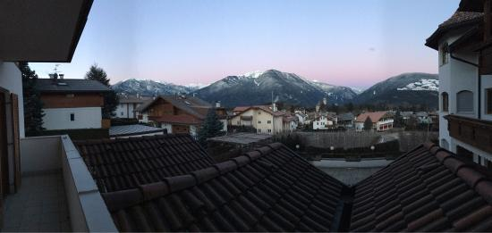 Naz-Sciaves (Natz-Schabs), Italien: View from the hotel balcony.
