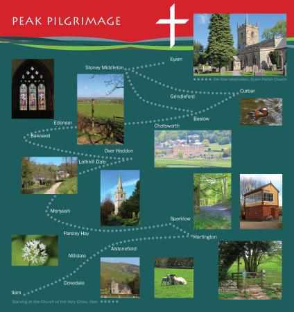 Ilam, UK: Places visited