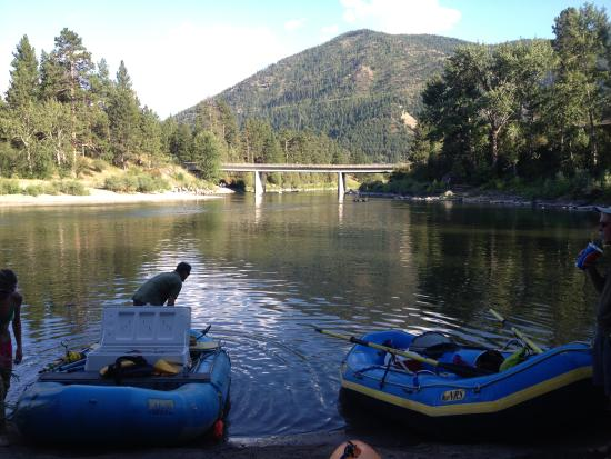 Missoula, Μοντάνα: Only 5 blocks to Clark Fork River