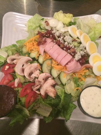 Delicious Cobb salad!!
