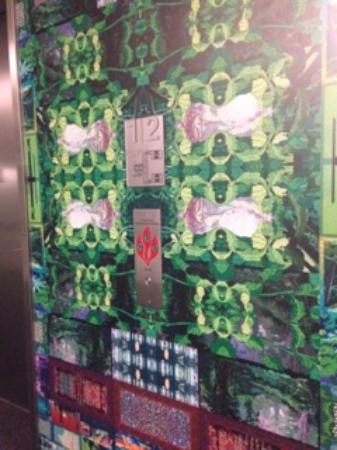 Elevator Wallpaper - Picture of 21c Museum Hotel Bentonville ...