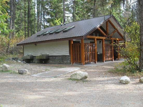 Christina Lake, Канада: Shower House at Texas Creek Campground in Gladstone Provincial Park