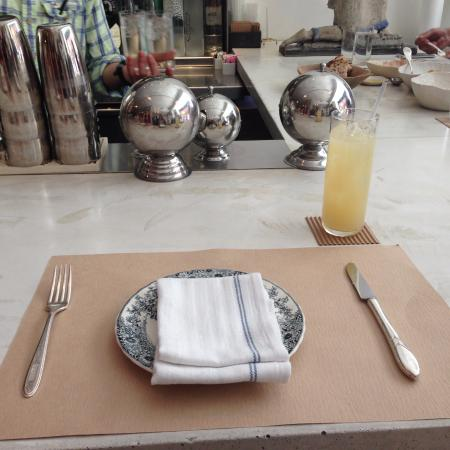 table setting picture of abc kitchen new york city tripadvisor