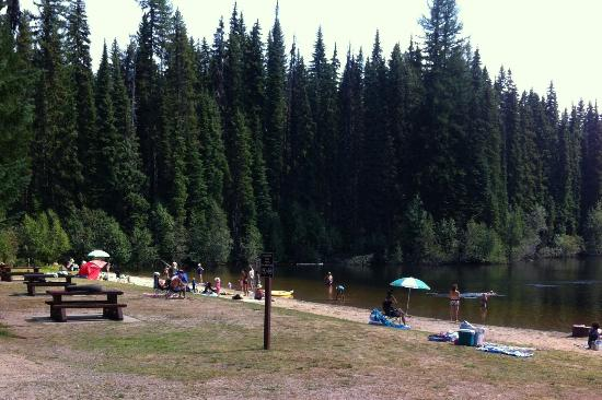 Castlegar, Kanada: Beach Area at Nancy Greene