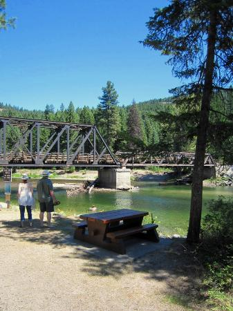 Rock Creek, Canadá: Kettle River Recreation Area