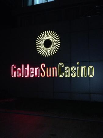 Golden Sun Casino: Вывеска