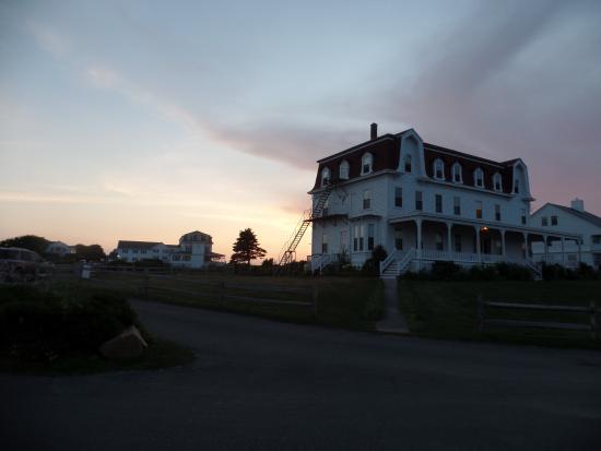 Spring House Hotel: Sunset