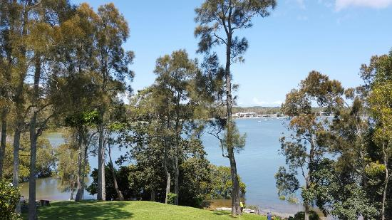 Anne's Waterfront Haven : The view in the house