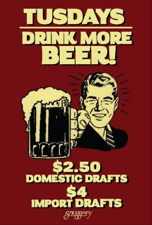 Elmhurst, IL: Drink More Beer on Tuesdays