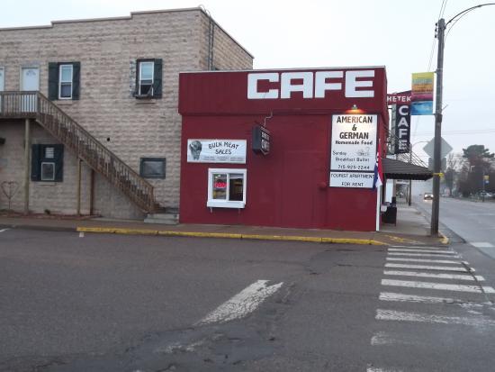 เชเตก, วิสคอนซิน: CHETEK CAFE