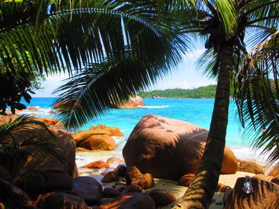 Isola di Praslin, Seychelles: Northern point