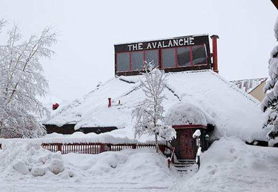 Avalanche Bar & Grill: Did I mention that it snows there?
