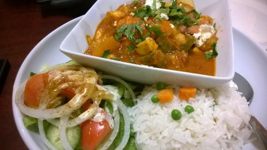 Novi, MI: Veggie Curry