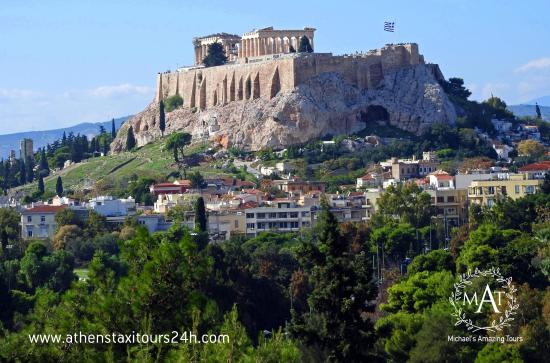 Glyfada, Grækenland: The Acropolis