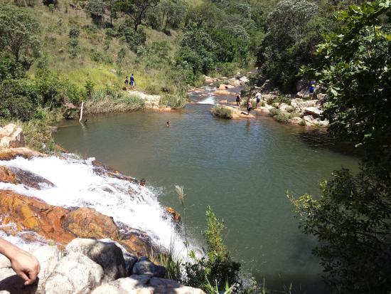 Boa Esperanca, MG: Cachoeira Santa Luzia