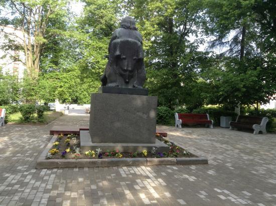 Сортавала, Россия: На троне в каменной шкуре