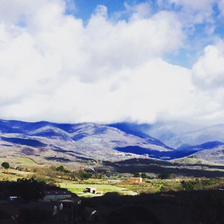 Hotel Rural Villa Xarahiz : Cielo de invierno desde Villa Xarahiz
