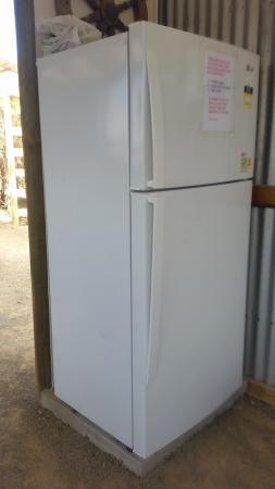 Kingscote, Australia: fridge in the camp kitchen