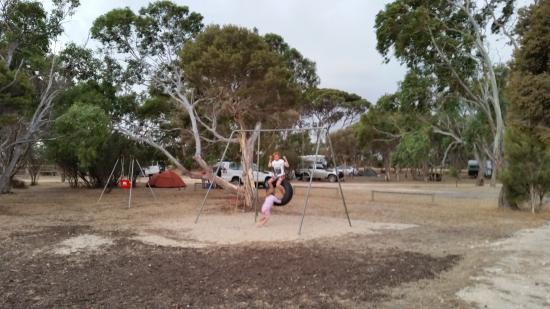 Kingscote, Australia: play ground