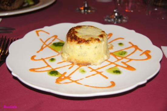 Heritage Lodge & Spa: cheese soufflé