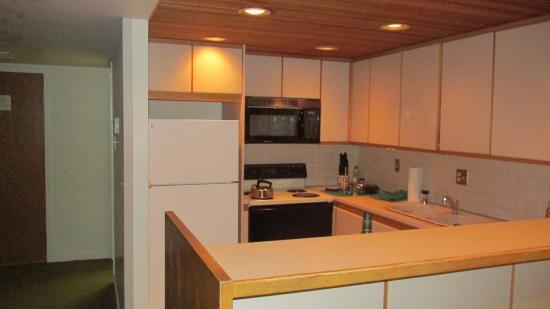 Snowbird, Utah: кухня в номере