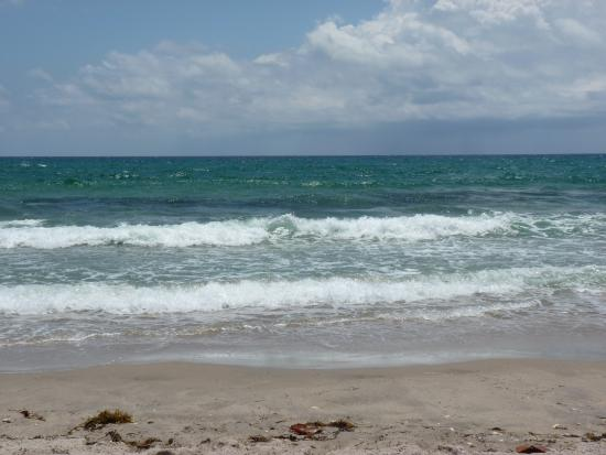 Boynton Beach, Флорида: Another beautiful day at the beach.
