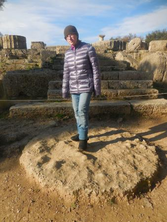 Ancient Olympia: Temple of Zeus