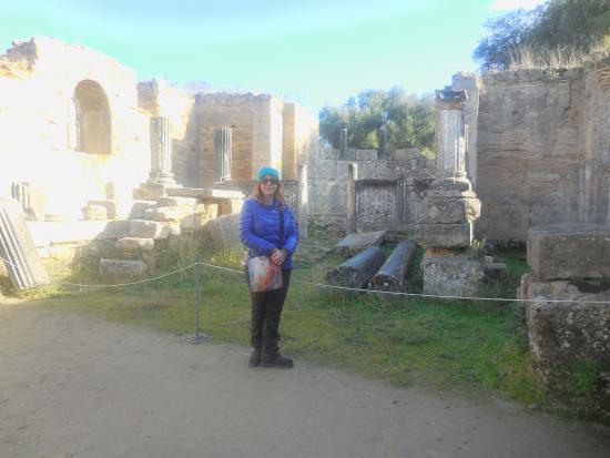 Ancient Olympia: Studio of Phidias
