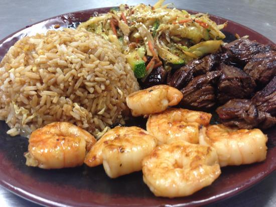 Gainesville, جورجيا: Bluefin Hibachi & Sushi