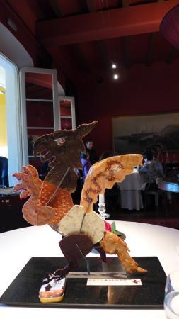 Sant Pol de Mar, Spagna: 먹기 아까웠던 디저트
