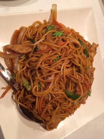 Champaign, Ιλινόις: Chicken lo mein