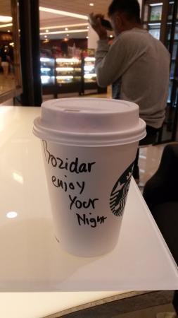 Starbucks Mega Mall Batam