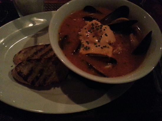 Red Door Bistro: Seafood bouillabaisse
