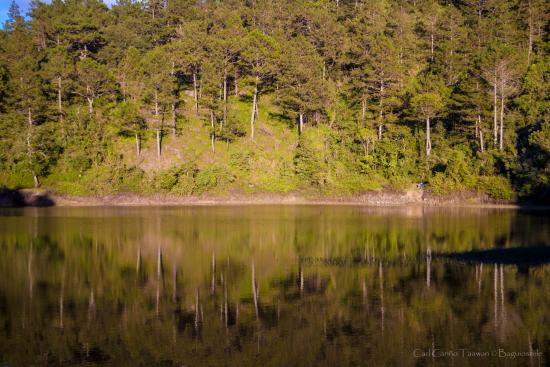 Lake Danum: The reflective waters of Dake Danum (Lake Banao to the locals)