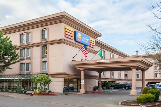 Comfort Inn & Suites Sea-Tac Airport: Welcome to Seattle Airport
