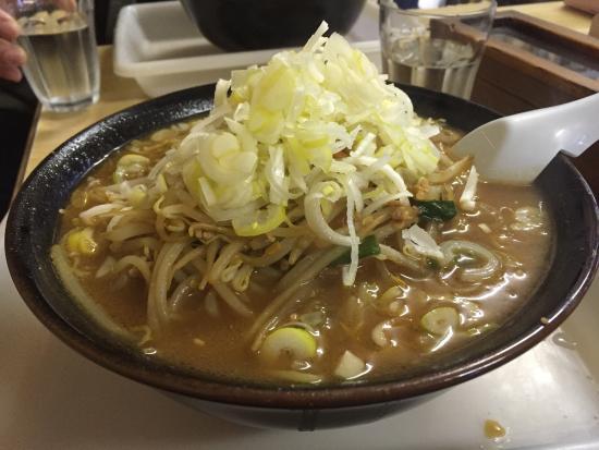 Mutsu, Japonya: 味噌ラーメン