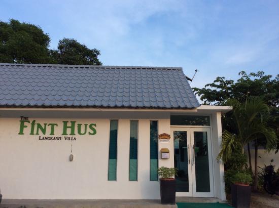 The Fint Hus Langkawi : Entrance
