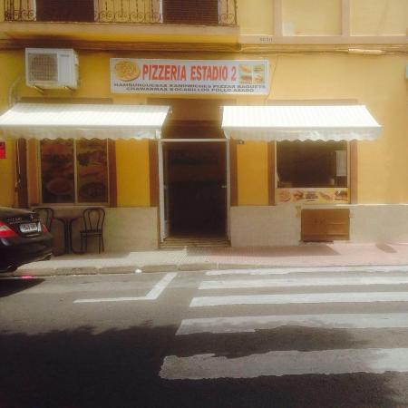 imagen Pizzería Estadio II en Melilla