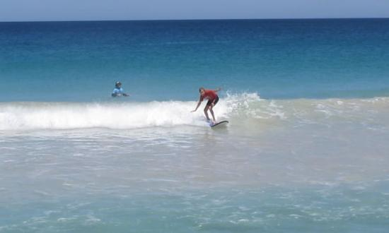 Scarborough Beach Surf School : After 5 lessons!