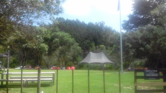 Νήσος Γουαϊχέκε, Νέα Ζηλανδία: Man o war