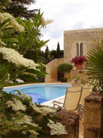 Belves-De-Castillon, Γαλλία: Swimming pool