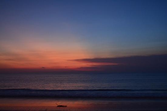 Jimbaran, Indonesia: Sunset at the Beach