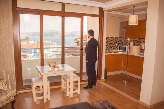 Cihangir Ceylan Suite : Deluxe Double Room vith Sea View