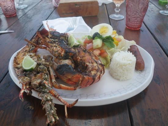 Bayahíbe, República Dominicana: Bonne appétit !!!!