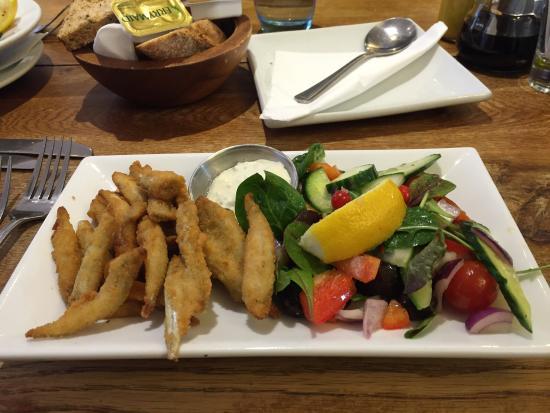 White's Seafood & Steak Bar: Whitebait from Set Lunch Menu
