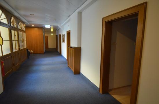 Hotel Mariahilf : il corridoio ai piani