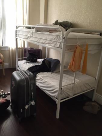 Orange Village Hostel: เตียงสองชั้น