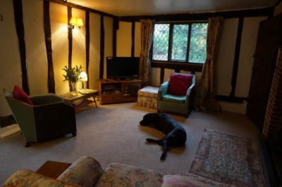 Sudbury, UK: Guests' Snug Lounge