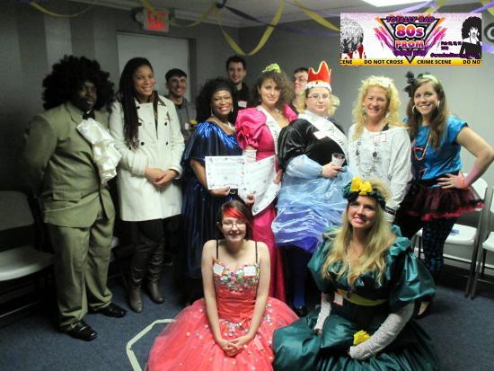 Jacksonville, Caroline du Nord : Class of Mayhem High! Totally Rad 80s Prom Gone Bad 02/12/2016 #crackeditncradprom